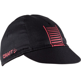 Craft Classic Bike Cap Black/Bright Red
